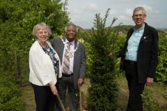 mayor and alan and tree