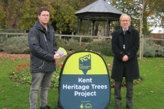 Maidstone Tree Trail Launch with Mark Bateson KCC